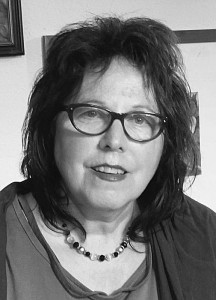 Irene Klaffke 2015 Malerin und Illustratorin sw 300 DPI